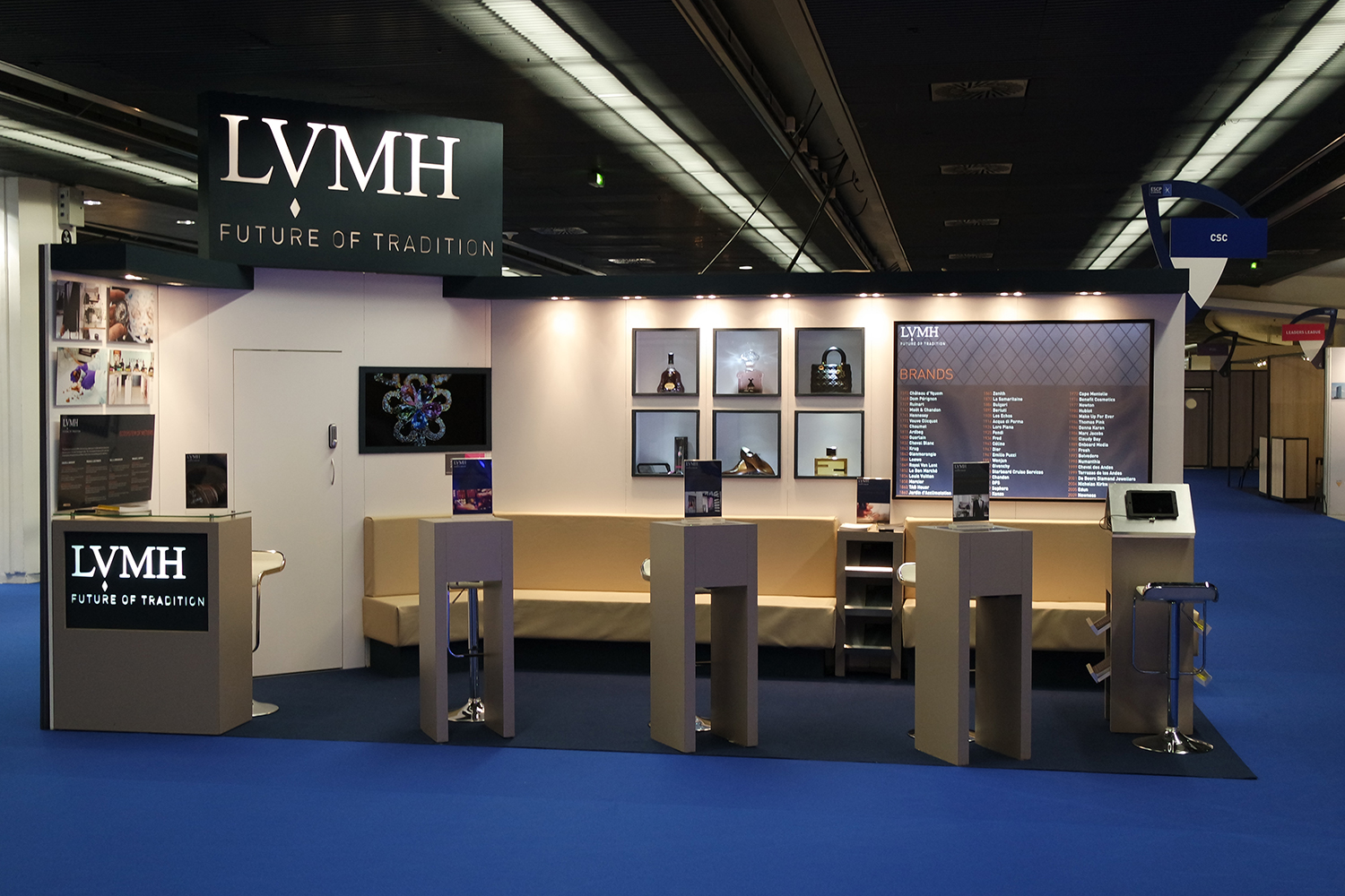 Stand Traditionnel LVMH